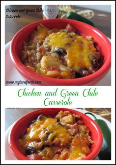 Chicken and Green Ch