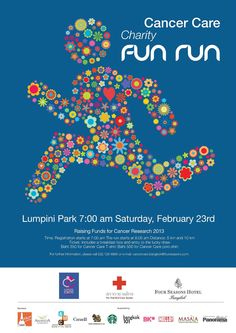 Four Seasons Hotel Bangkok holds 6th 'Cancer Care', A #Charity Fun Run at Lumpini Park on Saturday, February 23, 2013. Families, companies and the community are encouraged to join these fun-filled activities for #charity. #CancerCare