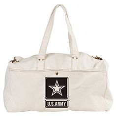 US Army Duffel Bag #UnitedStatesArmy #Army  #SupportourTroops  #ArmyStrong #SupportourMilitary #USA Lots of products  For this design click here --  http://www.cafepress.com/dd/97172174