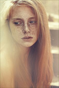 ~ freckles: by Lena Dunaeva ~