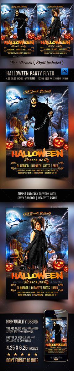 Sexy Halloween Party Flyer Template Halloween party flyer, Party - halloween party flyer