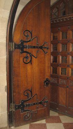 Warwick Castle Door