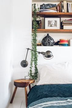 Plants add life to the simplest of spaces.