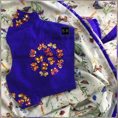 Stylish and Designer Blouse Back Neck Designs 2018 - ArtsyCraftsyDad Kids Blouse Designs, Hand Work Blouse Design, Simple Blouse Designs, Blouse Back Neck Designs, Stylish Blouse Design, Pattu Saree Blouse Designs, Blouse Designs Silk, Designer Blouse Patterns, Bridal Blouse Designs