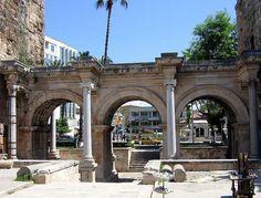 Hadrian's Gate Antalya, Turkey
