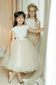Flower Girls in Vienna Austria Wedding