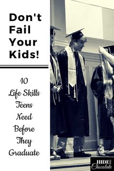 Don't Fail Your Kids! 10 Life Skills Teens Need Before They Graduate Don't fail your kids like we almost failed our son! Here are 10 life skills for teens who will soon have to navigate the world without their parents. via Hide The Homeschool High School, Homeschool Curriculum, Homeschooling Statistics, Homeschooling Resources, Raising Teenagers, Parenting Teens, Parenting Classes, Parenting Books, Parenting Quotes