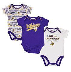 2b91e3af4 Minnesota Vikings Baby Creeper Nfl Vikings