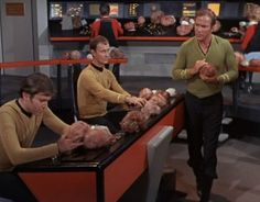 The Trouble With Tribbles. This just played tonight on Heroes & Icons tv. :)