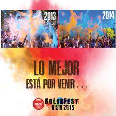 #muypronto #KolorFestRunGT #muchomásqueunacarrera 22 de febrero. 7:00 am.  Condado Concepción.