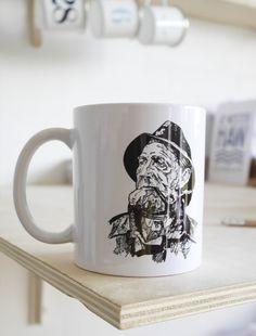 Keramikkrus - Chefen a.k.a Fiskeren