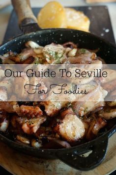 Our Guide to Seville for Foodies: Seville is slowly becoming recognised as a foodie haven, and this guide is a must for any food lover planning to visit Andalusia's capital city!