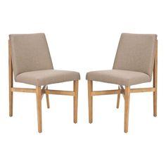 Duncan side chairs (love the leg base)