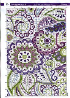 Vorkdl 02 2016 by avgurer - issuu Mini Cross Stitch, Cross Stitch Flowers, Cross Stitch Charts, Cross Stitch Designs, Cross Stitch Patterns, Needlepoint Patterns, Embroidery Patterns, Cross Stitching, Cross Stitch Embroidery