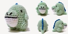 i crochet things: Free Pattern Friday: Little Dino Amigurumi