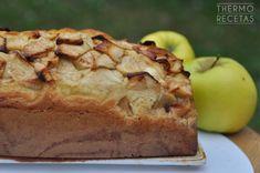 Plum cake de manzana - http://www.thermorecetas.com/plum-cake-de-manzana/