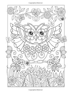 Coloring Book Pages database . More than printable coloring sheets page. Free coloring pages of kids heroes animal etc . Owl Coloring Pages, Printable Adult Coloring Pages, Coloring For Kids, Free Coloring, Coloring Sheets, Coloring Books, Mandala Art, Colorful Drawings, Painting