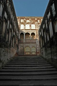 Elephant Track in Lahore Fort