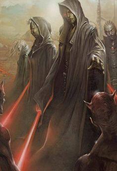 Star Wars sith, Jedi exiles