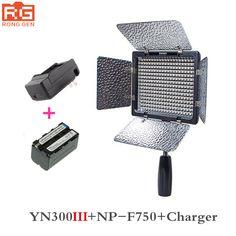 Get Discount Yongnuo YN300 III YN-300 III 3200k-5500K CRI95 Camera Photo LED Video Light with 4600mAh NP-F750 Battery with Charger set #Yongnuo #YN300 #YN-300 #3200k-5500K #CRI95 #Camera #Photo #Video #Light #with #4600mAh #NP-F750 #Battery #Charger