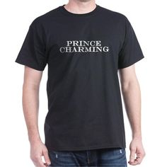 Prince Charming Black T-Shirt