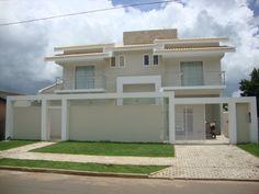 fachadas de casas modernas com grade | inspiración de diseño de interiores