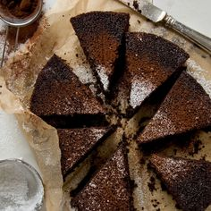 """Chocolate Buttermilk Cake 