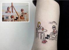 En fotos: ¡Increíbles! Mira los tatuajes llevados de las películas a la piel
