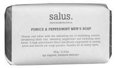 Pumice and Peppermint Mens Soap Outfit Shop, Mens Soap, Unclog Pores, Black Clay, Pumice, Beauty Boutique, Shea Butter, Peppermint, Cleanse