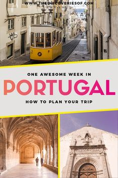 The ultimate Portugal travel itinerary. Explore one of the hottest Europe travel destinations on this awesome trip. From Lisbon to Lagos, Porto and the Algarve, here's what you need to know for your holiday #holiday #traveltips #travelitinerary #portugal #europe