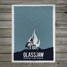 GlassJaw Poster. More at MattScottBarnes.com