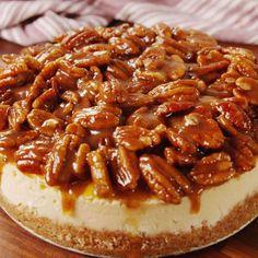 Pecan Pie CheeseCake -- take your pecan pie to the next level.