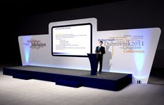 it conference set design - Google Search