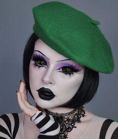 Ghost Makeup, Creepy Makeup, Horror Makeup, Zombie Makeup, Clown Makeup, Fx Makeup, Makeup Inspo, Beauty Makeup, Halloween Inspo