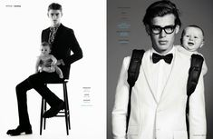 Ryan Barrett, Charlie France, Matt Trethe + More Pose with Babies for GQ Germany