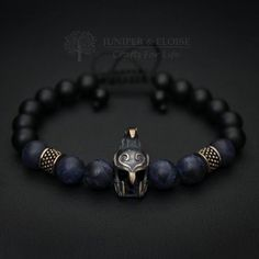 Elven Helmet Bracelet, Men's Bracelet, Elven Bracelet, Elven Jewelry, Helmet charm , Mens Jewelry, Elven Warrior Helmet