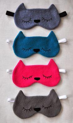 Aprende a hacer unas hermosas mascaras para dormir -