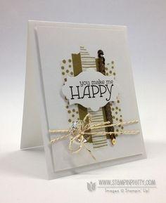 stampin up washi tape card ideas | Stampin up stampinup happy watercolors washi tape envelope liner ...