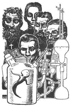 Science! 1950s Illustration
