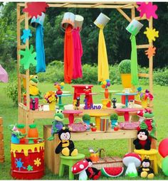 Art Themed Party, Art Party, Artist Birthday, 9th Birthday Parties, School Decorations, Party Time, Holi Theme, Ideas, Kids Art Party