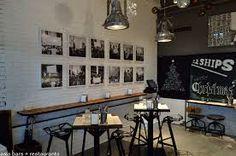 Image result for industrial interior cafe