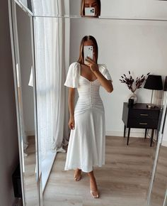 Dressy Outfits, Cute Summer Outfits, Spring Outfits, Cute Outfits, Fashion Outfits, Boutique Interior, Anna Wintour, Mein Style, Elegant Outfit