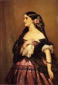 Adelina Patti 1843 - 1919. Visitó Cuba en 1856.