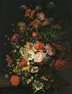 Rachel Ruysch Bouquet of Flowers 1715
