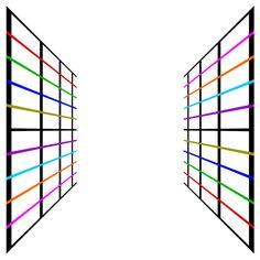 Akiyoshi Kitaoka - Perspective Poggendrff illusion