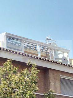 Cortinas de cristal y techos móviles en Cataluña: Nuevo techo Vidris en Viladecans