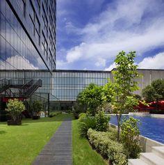 Radisson Blu Hotel Pudong Century Park, Shanghai - Garden