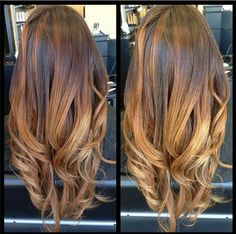Gorgeous Sunkissed Ombre Hair Color from #HairStylist, Lily Duong with Organic Color Systems! #behindthechair #haircolor