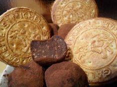 Recette truffes aux galettes saint-michel par Magali : Juste ce qu'il faut de croquant dans une truffe incroyablement fondante !.Ingrédients : cacao, beurre, crème fraîche, truffe, chocolat noir