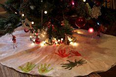 Christmas tree skirt white christmas foreignluxury